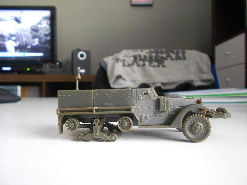 M3A1 Half-Track [Unimax 1/72] par Nicolasdu09 et M16 anti-aérien [Revell 1/76] par Panzer ==> Les faux jumeaux. Dscn0813