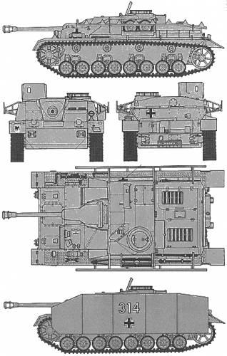 Sturmgeschütz IV 1/72 ème German10