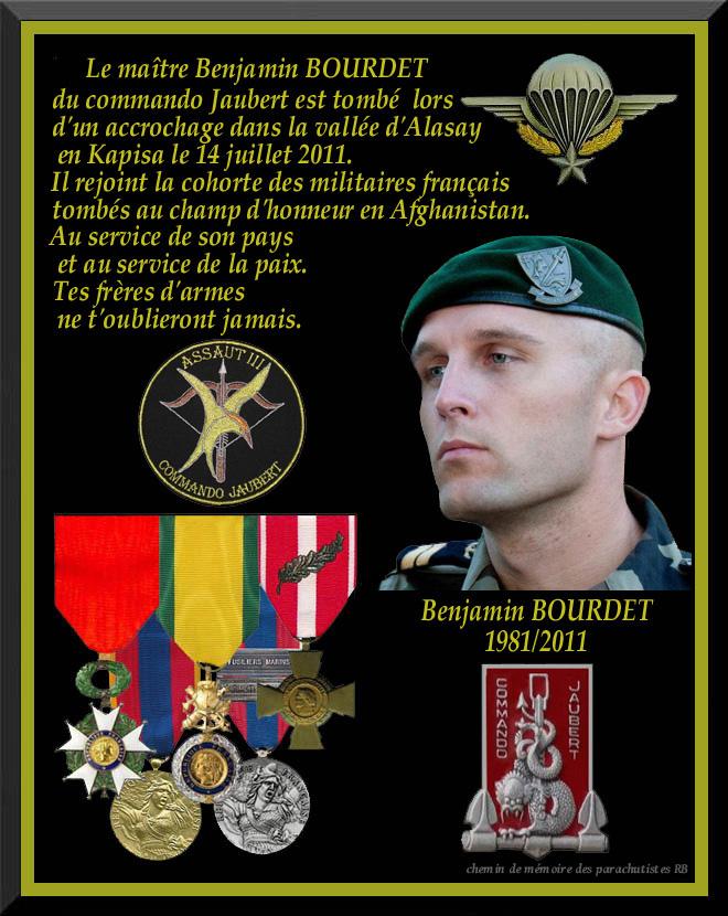BOURDET Benjamin second-maître commando Jaubert  Aghanistan Bourde10