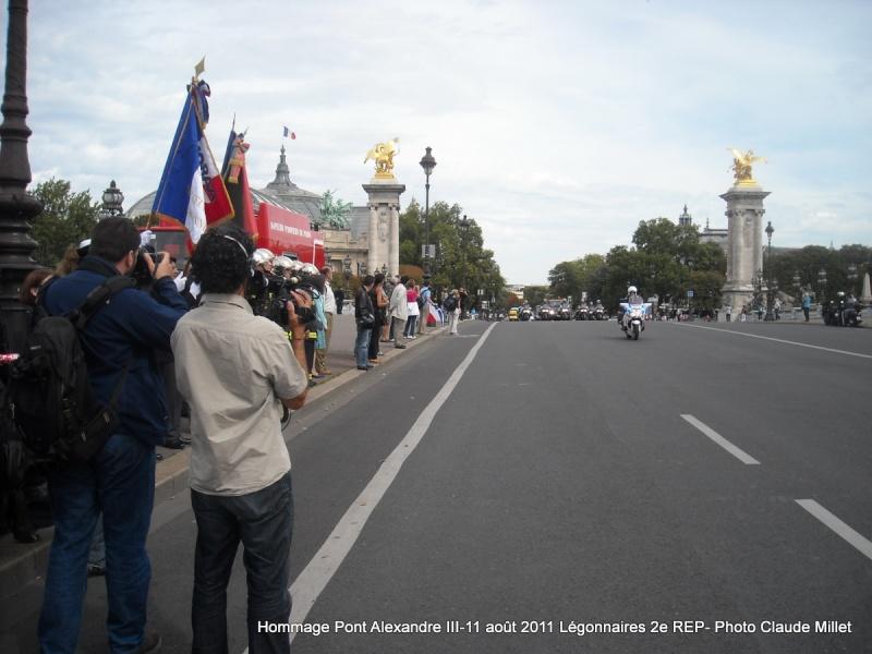 2e REP Hommage aux 2 Légionnaires tombés le 17 août 2011 en Afghanistan  Vrac_117