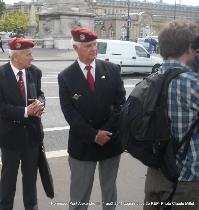2e REP Hommage aux 2 Légionnaires tombés le 17 août 2011 en Afghanistan  Vrac_124
