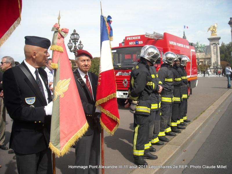 2e REP Hommage aux 2 Légionnaires tombés le 17 août 2011 en Afghanistan  Vrac_127