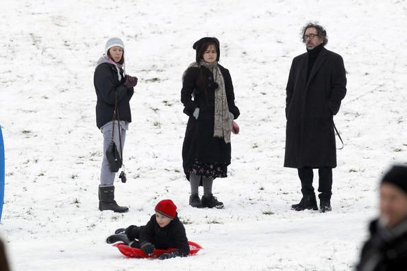 Helena sous la neige.  Helena52
