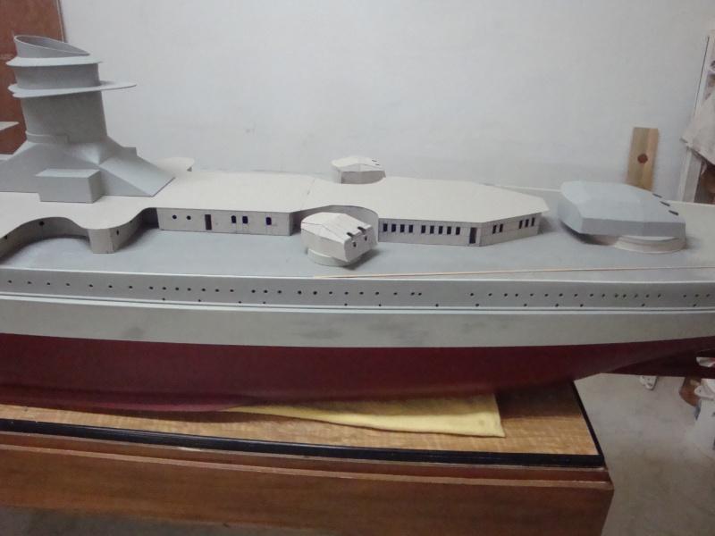 1:72 Scale German WW2 Heavy Battle Cruiser K.M.S. Scharnhorst 1943 - Page 6 Dsc02757