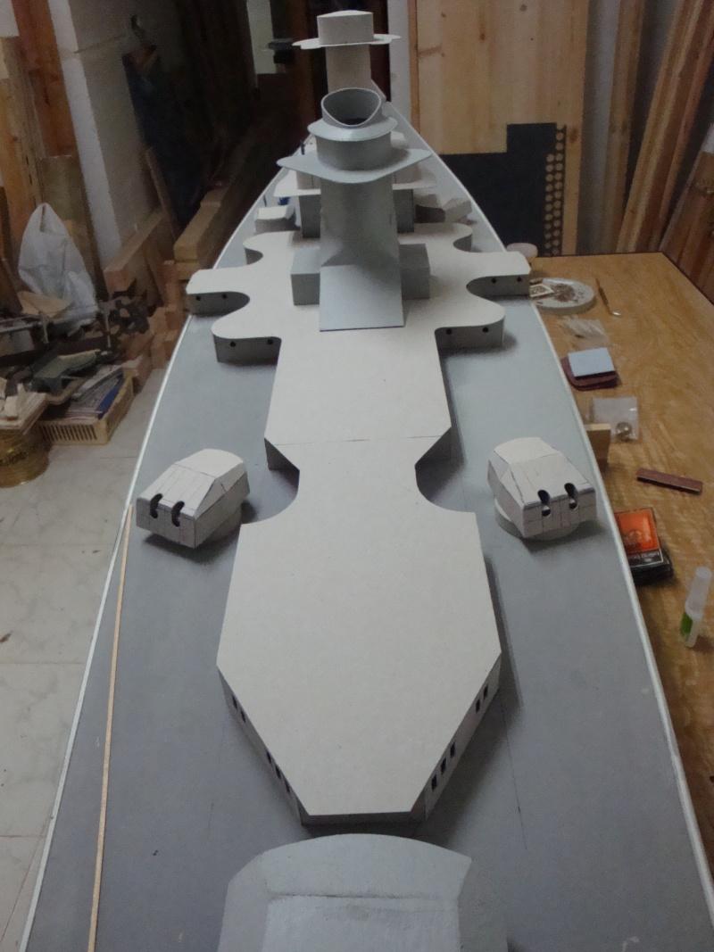 1:72 Scale German WW2 Heavy Battle Cruiser K.M.S. Scharnhorst 1943 - Page 6 Dsc02759