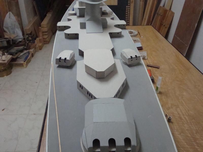 1:72 Scale German WW2 Heavy Battle Cruiser K.M.S. Scharnhorst 1943 - Page 6 Dsc02769
