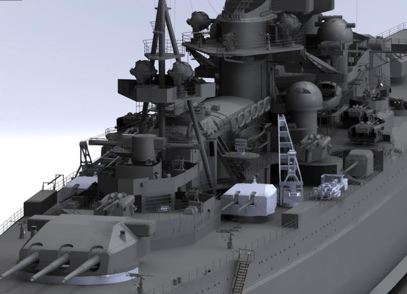 1:72 Scale German WW2 Heavy Battle Cruiser K.M.S. Scharnhorst 1943 - Page 6 S13310