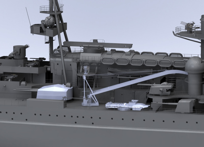 1:72 Scale German WW2 Heavy Battle Cruiser K.M.S. Scharnhorst 1943 - Page 6 S13410