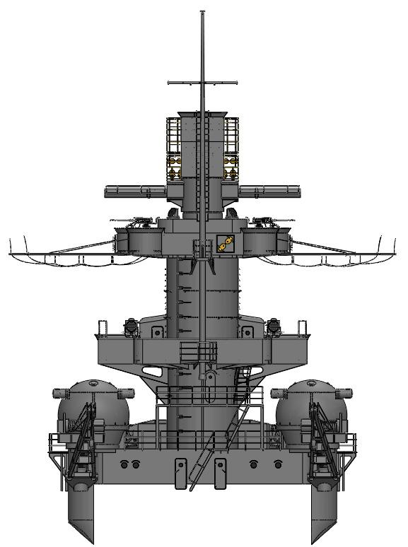 1:72 Scale German WW2 Heavy Battle Cruiser K.M.S. Scharnhorst 1943 - Page 3 S16910