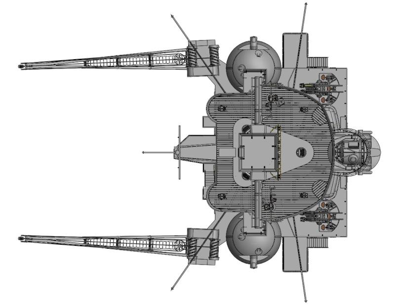 1:72 Scale German WW2 Heavy Battle Cruiser K.M.S. Scharnhorst 1943 - Page 3 S17110