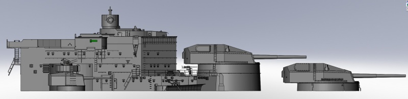 1:72 Scale German WW2 Heavy Battle Cruiser K.M.S. Scharnhorst 1943 - Page 4 S175_b10