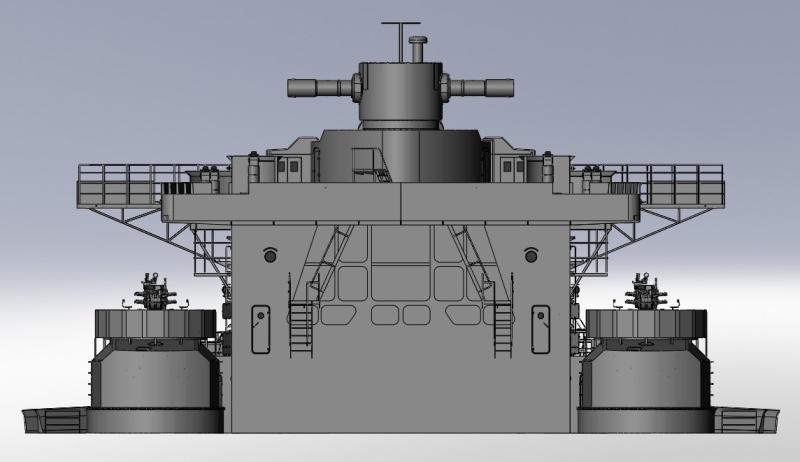 1:72 Scale German WW2 Heavy Battle Cruiser K.M.S. Scharnhorst 1943 - Page 4 S177_b10