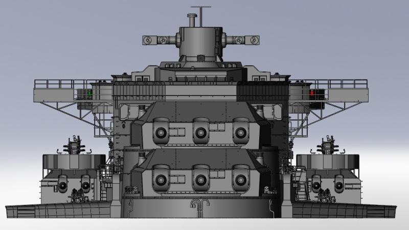 1:72 Scale German WW2 Heavy Battle Cruiser K.M.S. Scharnhorst 1943 - Page 4 S178_b10