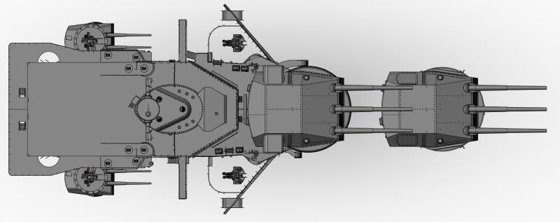 1:72 Scale German WW2 Heavy Battle Cruiser K.M.S. Scharnhorst 1943 - Page 4 S179_b10