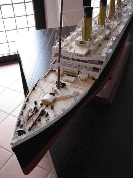 Fasciame ponti Titanic Amati 1:250 410