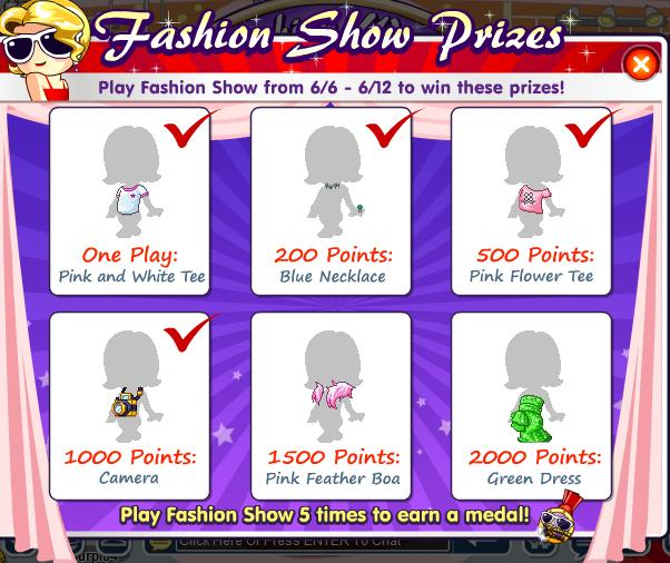 Help with the fashion week event? Fashio10