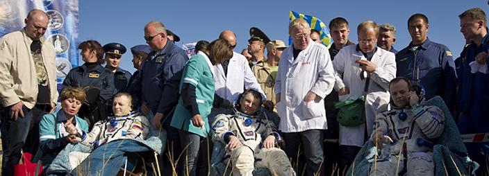 [Soyouz TMA-21] Retour sur terre le 16.09.2011. Retour11
