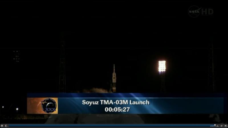 TMA-03M: Lancement, amarrage et retour sur terre. - Page 2 Soyouz10