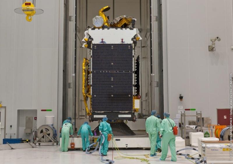 Lancement Ariane 5 ECA VA210 / StarOne C3 + W6A - 10 novembre 2012 W6a10