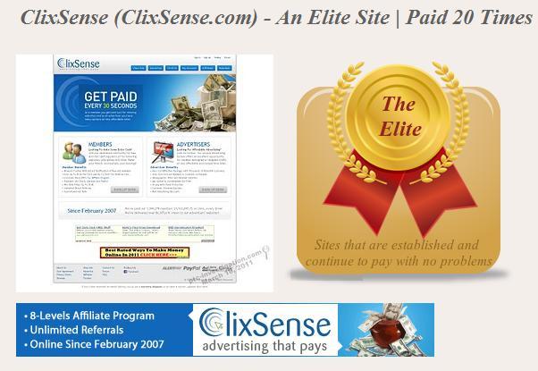 شرح الشركة العملاقة ClixSense للربح الفورى Clix1610