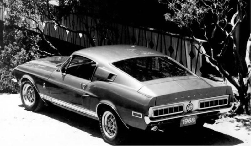 Quelque photo original de Shelby 1968 1968_s17