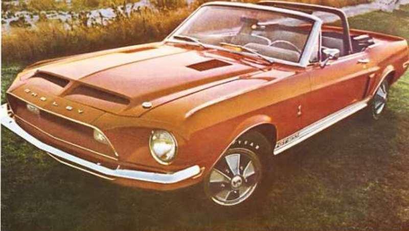 Quelque photo original de Shelby 1968 1968_s18