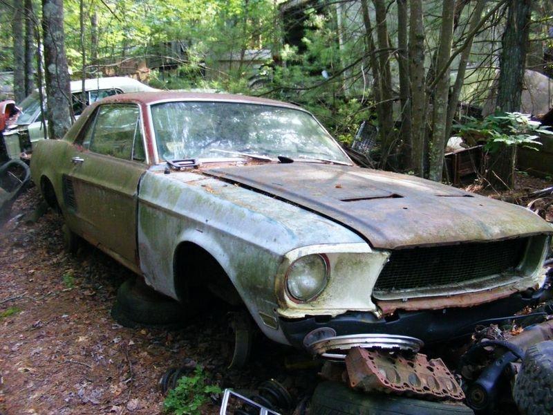 D'autre photos d'épave de Mustang 1967 1968 5_bmp10