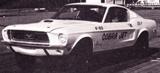 1968 Cobra Jet, Ford Drag Mustang