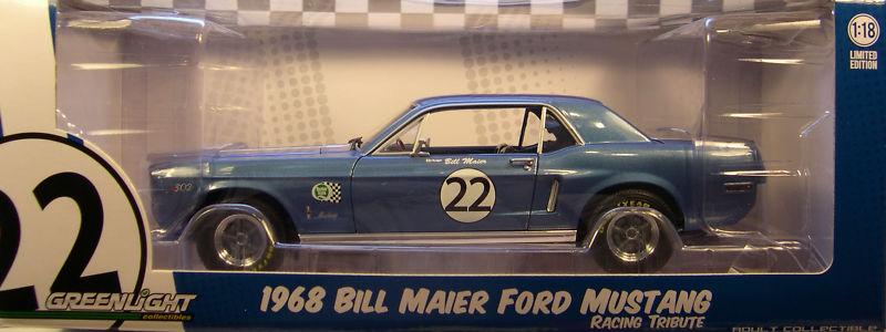 Mustangs 1968 à l'échelle 1:18  Greenl11