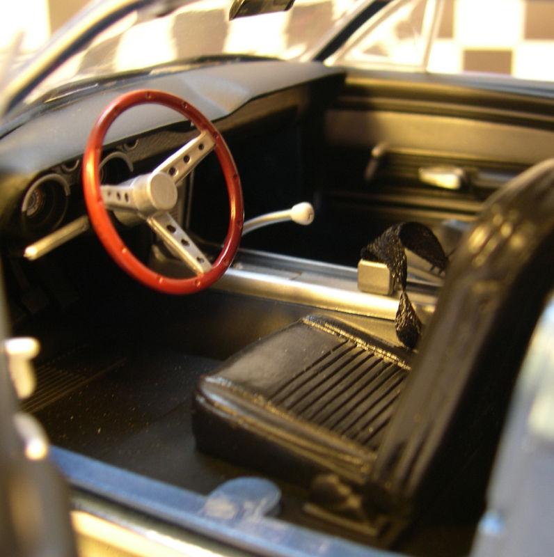 Mustangs 1968 à l'échelle 1:18  Greenl14