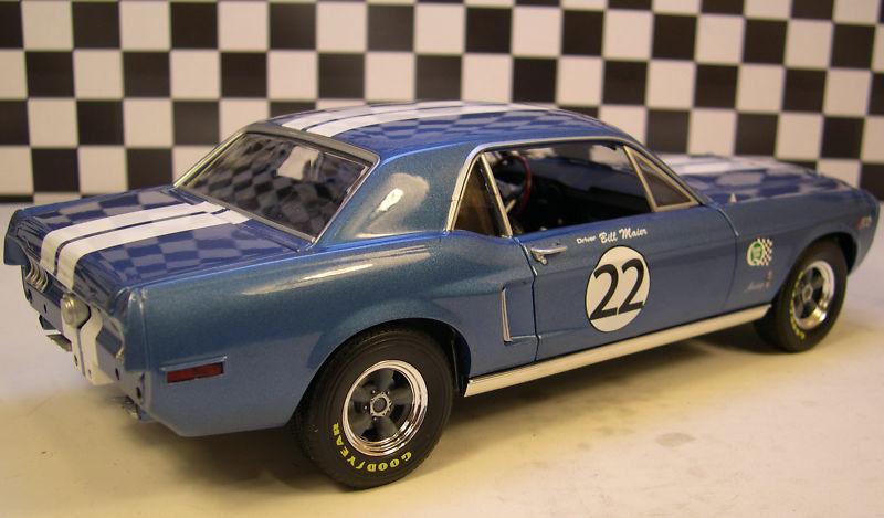 Mustangs 1968 à l'échelle 1:18  Greenl16