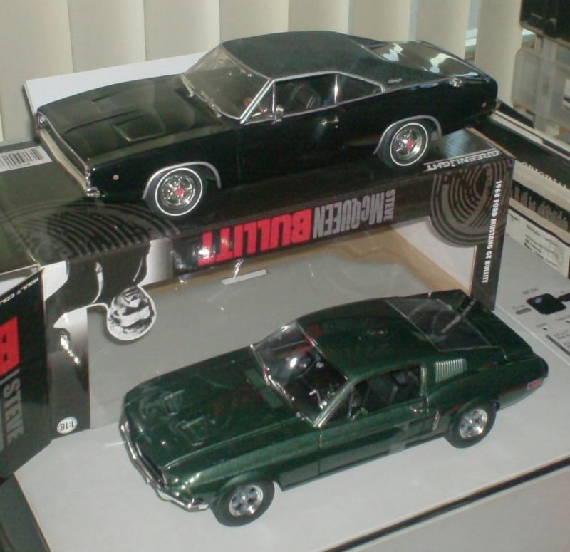 Mustangs 1968 à l'échelle 1:18  Musta265