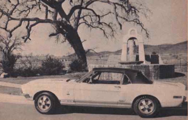 Quelque photo original de Shelby 1968 Nouvel34