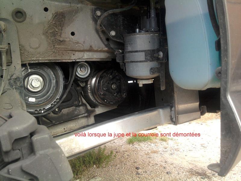 [ Renault Laguna III 2.0 DCI 150ch ] changement poulie débrayable alternateur (TUTO) 2011-071