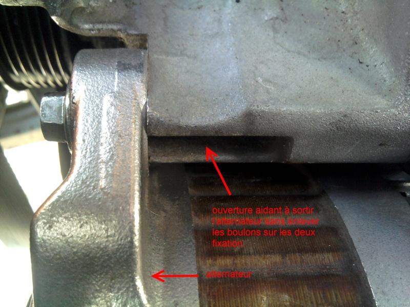 [ Renault Laguna III 2.0 DCI 150ch ] changement poulie débrayable alternateur (TUTO) 2011-085