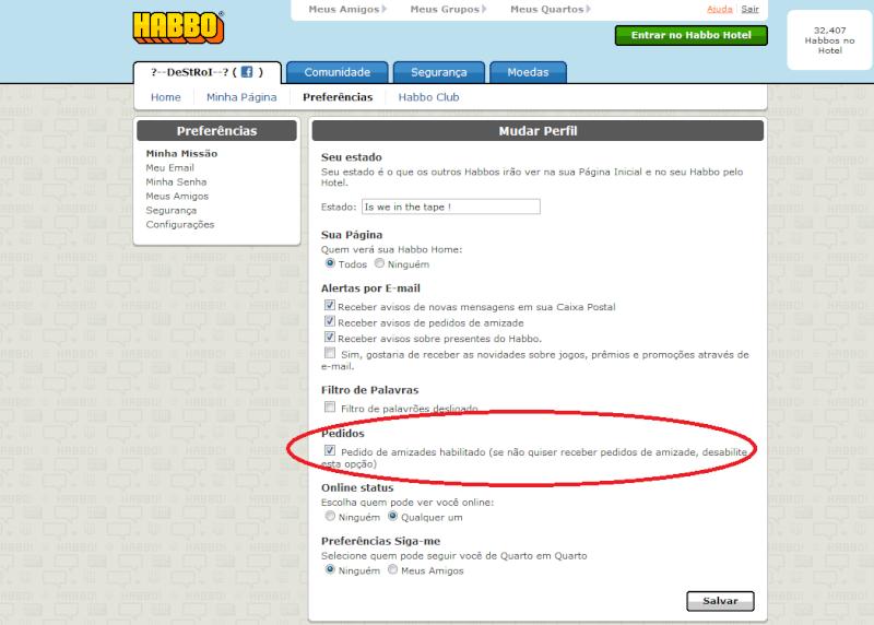 [PEDIDO][TUTO]Como bloquear os convites de amizade no Habbo Pt/BR Habbo12