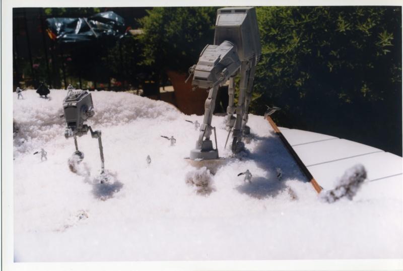 L'attaque de Hoth . Diorama Epson011