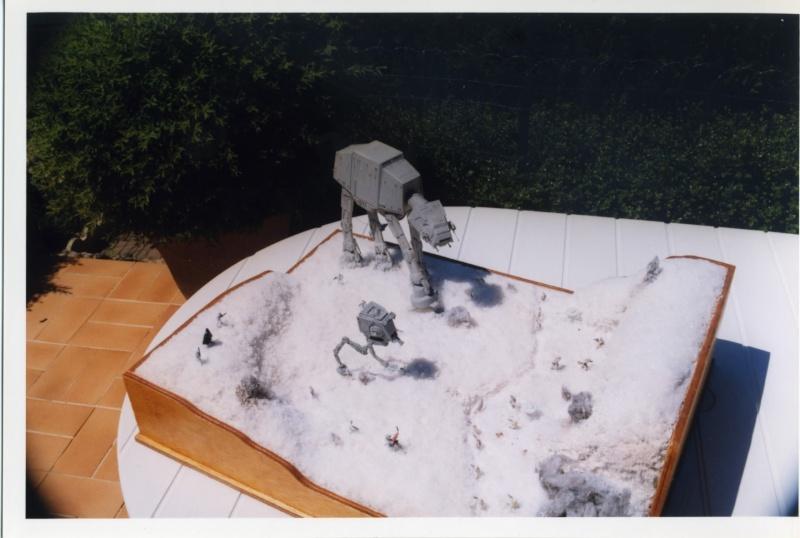 L'attaque de Hoth . Diorama Epson012