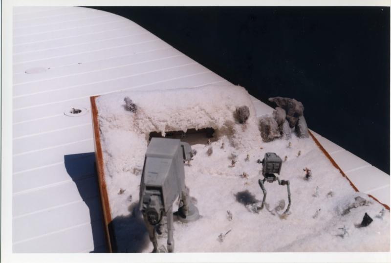 L'attaque de Hoth . Diorama Epson013