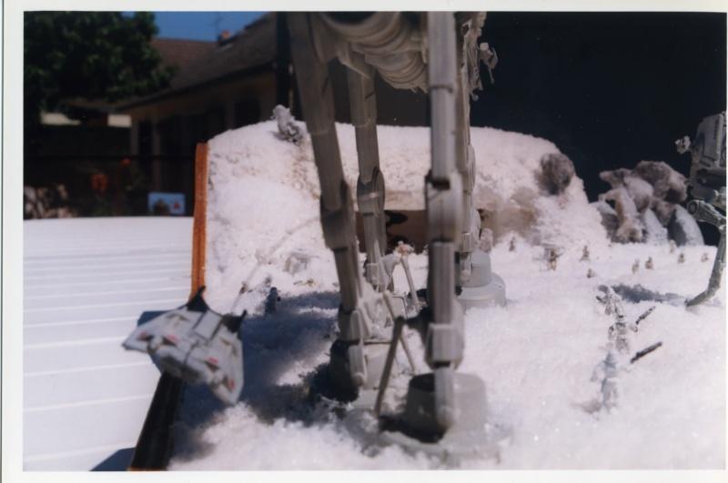 L'attaque de Hoth . Diorama Epson014