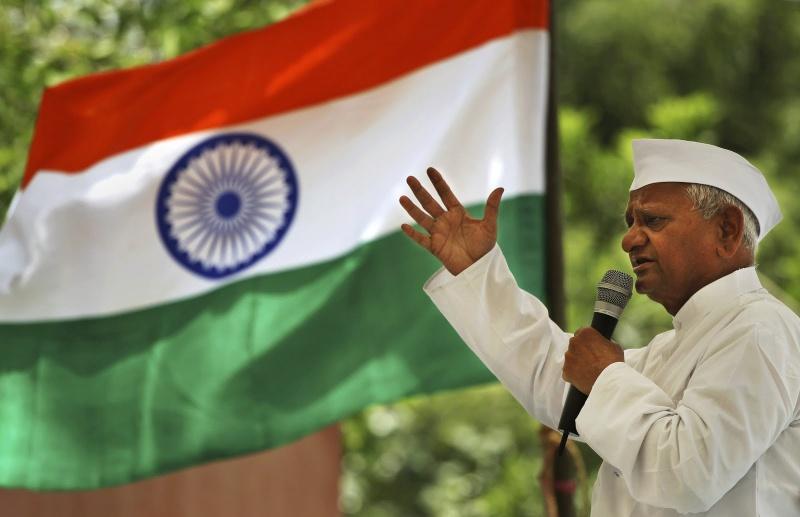 Anna Hazare- Social Activist Anna_h11