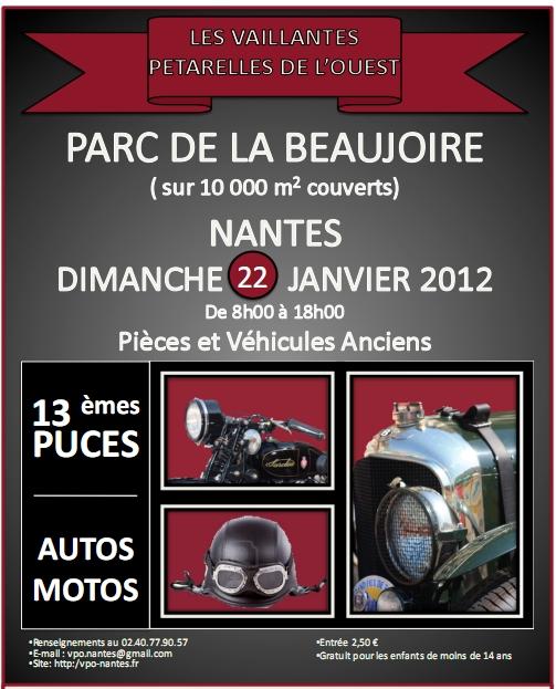 BOURSE D'ECHANGE AUTO MOTO NANTES LA BEAUJOIRE 2012la10