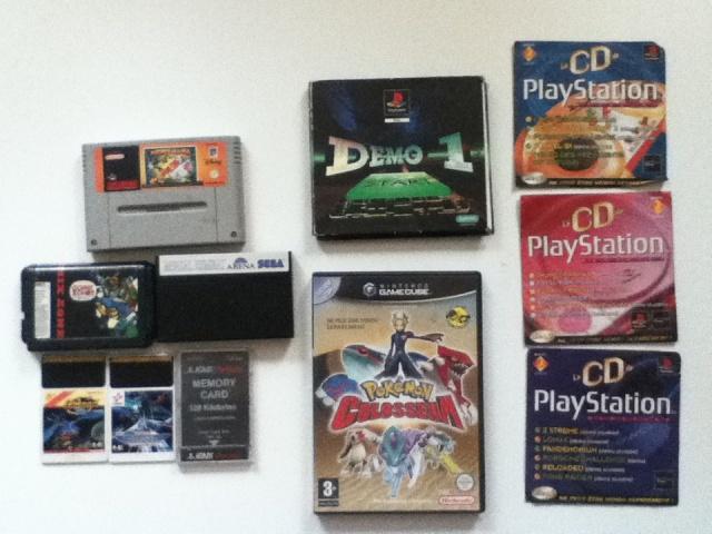 [Dehorvie] ►Gros lot de vinyles de jeux vidéo et PLV rétro◄ Img_0437