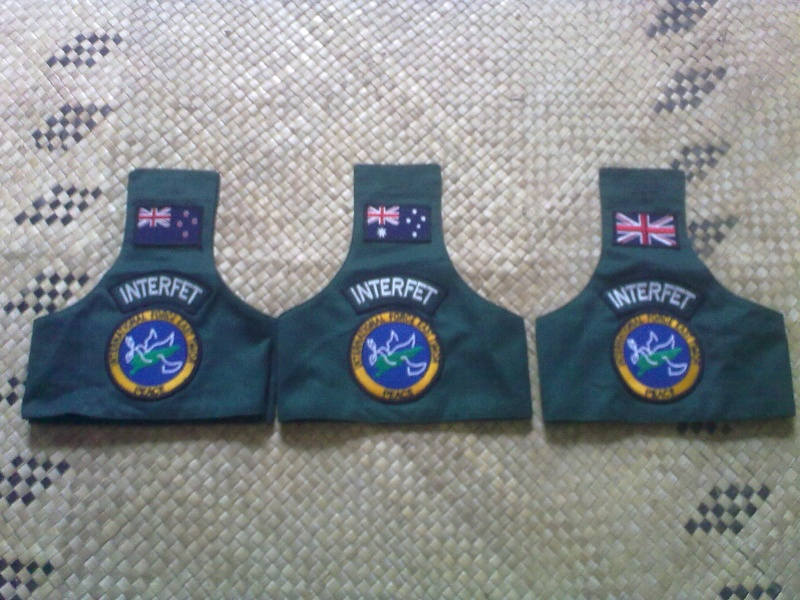 Brassards ,Rank slides and badges 13092028