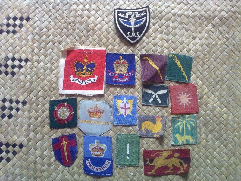 Brassards ,Rank slides and badges 13092041