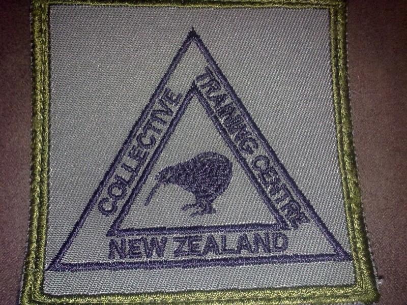 NZDF Velcro badges 2009 - Present. 30082019