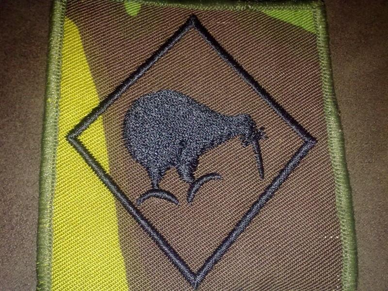 NZDF Velcro badges 2009 - Present. 30082020