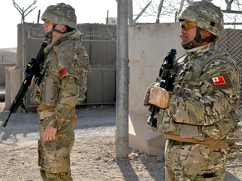 Tongans in Afghanistan attached to UK forces Auab1110