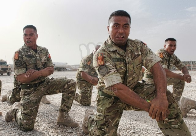 Tongans in Afghanistan attached to UK forces Profim10