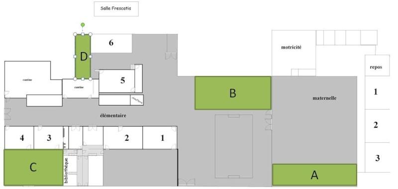 Aménagement paysager de l'école Terrai10